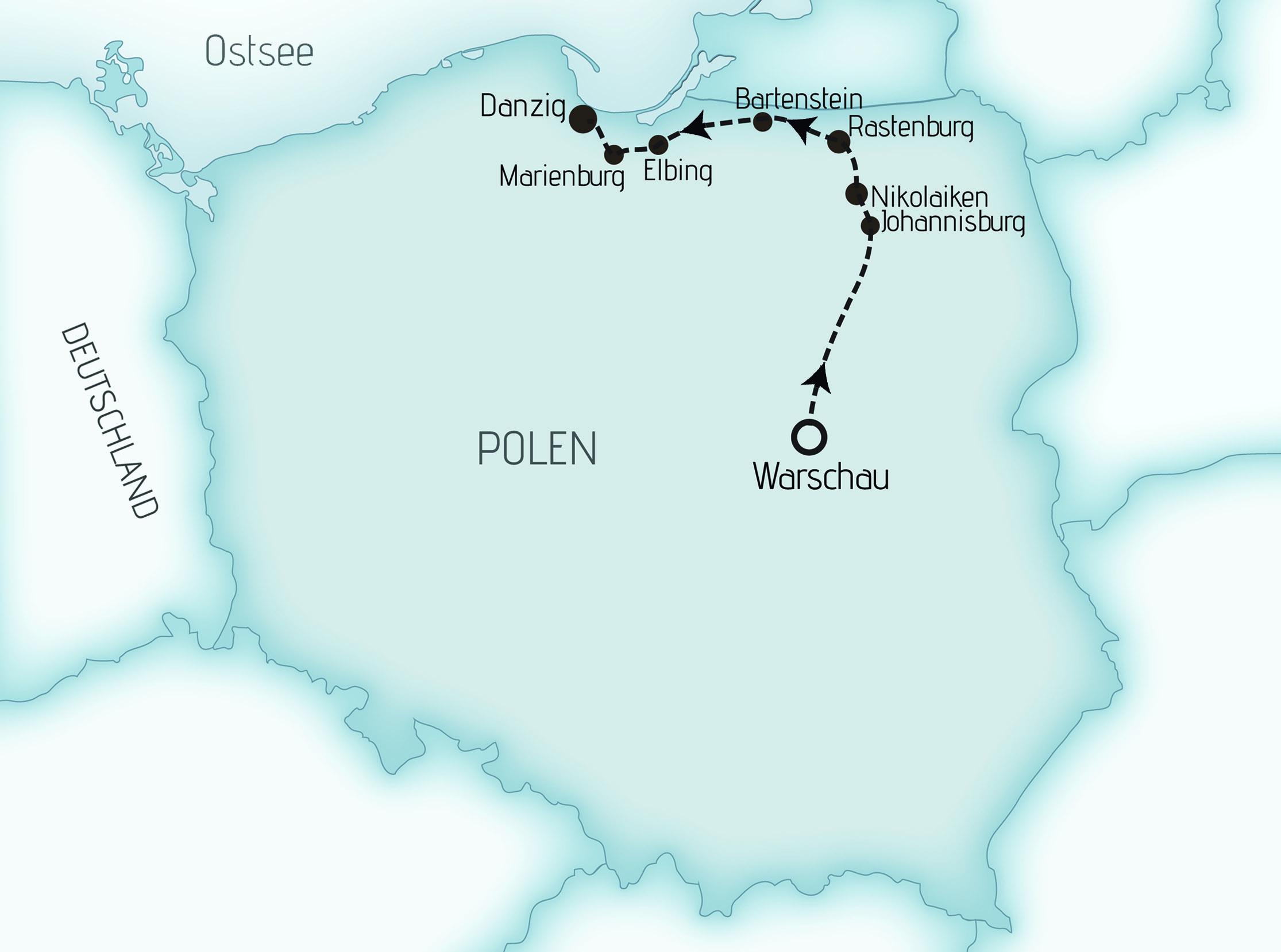 Karte MRE