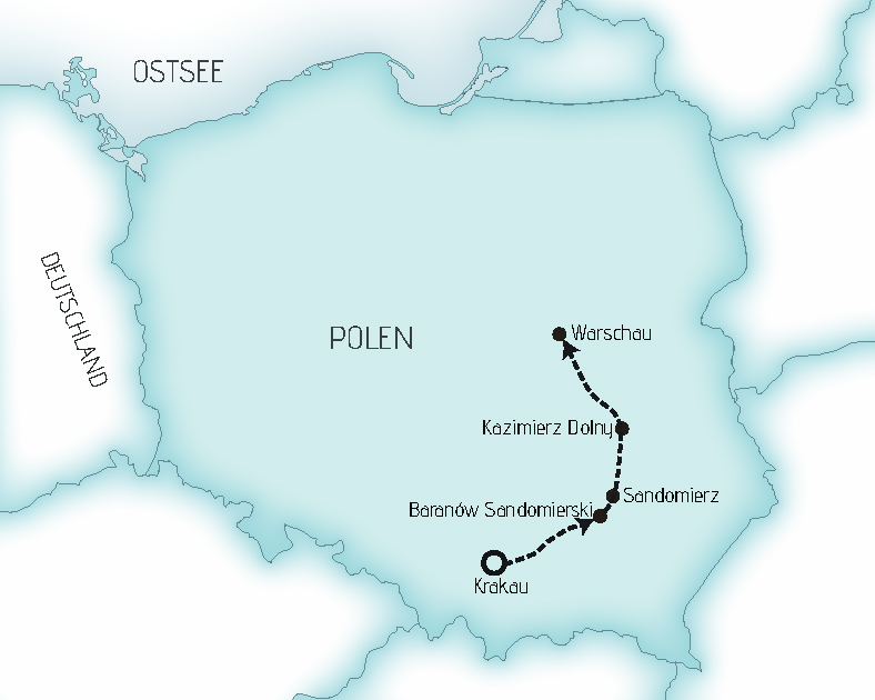 Karte KSW
