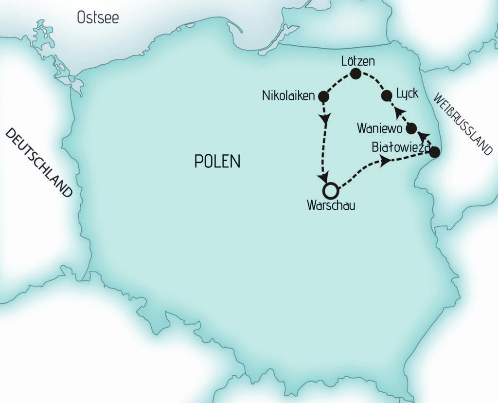 Karte BMNP